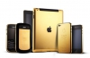 Gold iPhone 4S iPad 3 and BlackBerry 9900