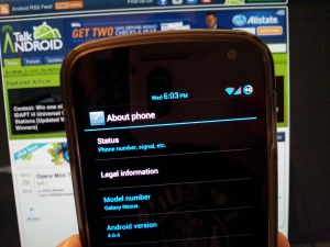 Android ICS 4.0.4 for Galaxy Nexus and Nexus S